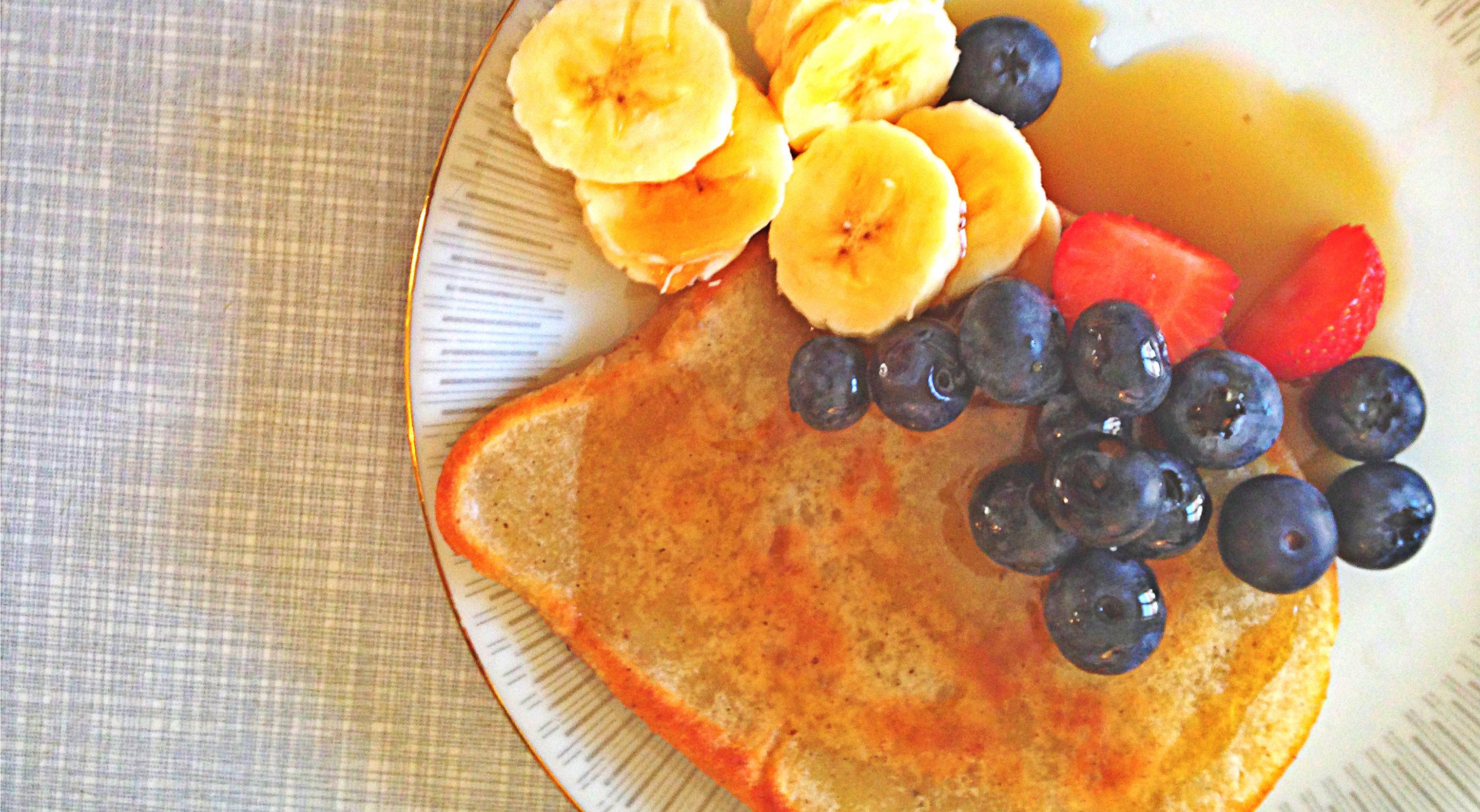 vegane Pancakes Titel