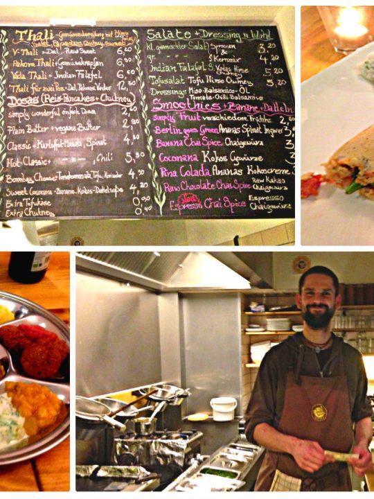 Vegan, lecker und günstig: Das Goura Pakora in Berlin 1