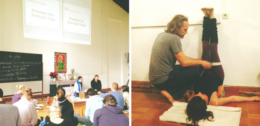 Yogalehrer Ausbildung Jivamukti