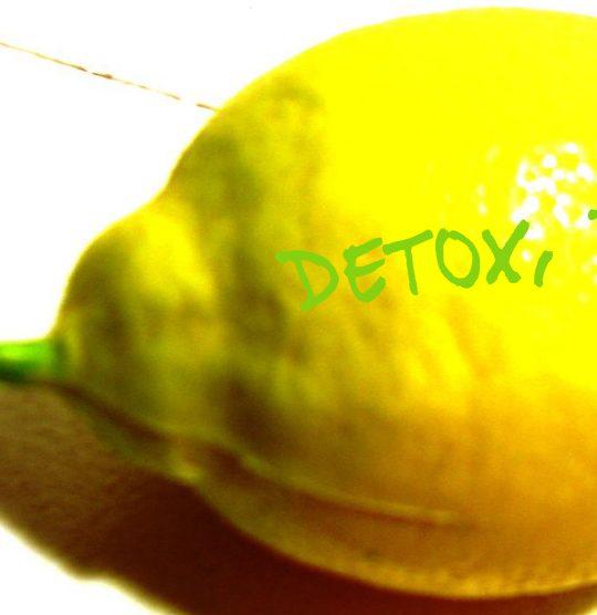 Detox Zitrone