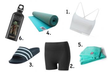 Bikram Yoga Shopping Liste