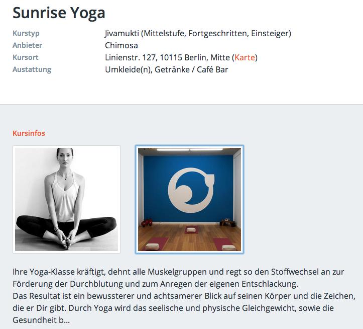 Yoga Berlin Fitengo
