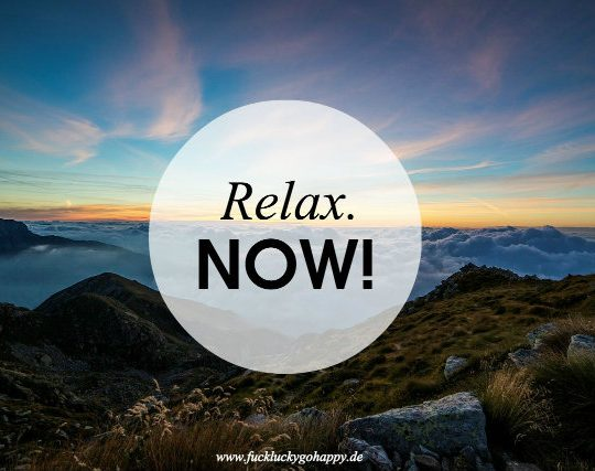 relax montagsmantra