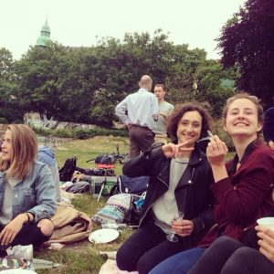 Picknick Weinbergspark Daysofyoga