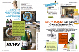Slow juices YOGA DEUTSCHLAND
