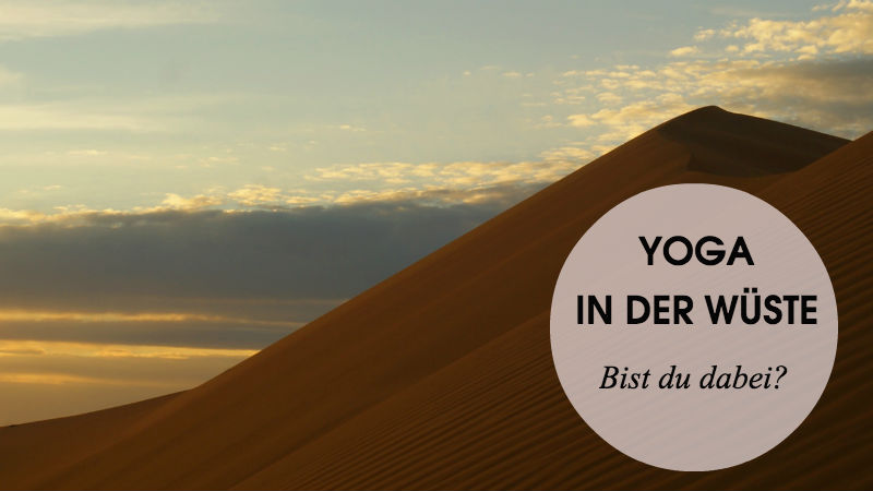 Yoga-Retreat Wüste