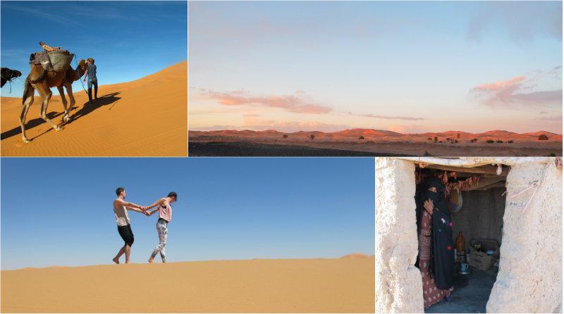 Yogaretreat in der Wüste