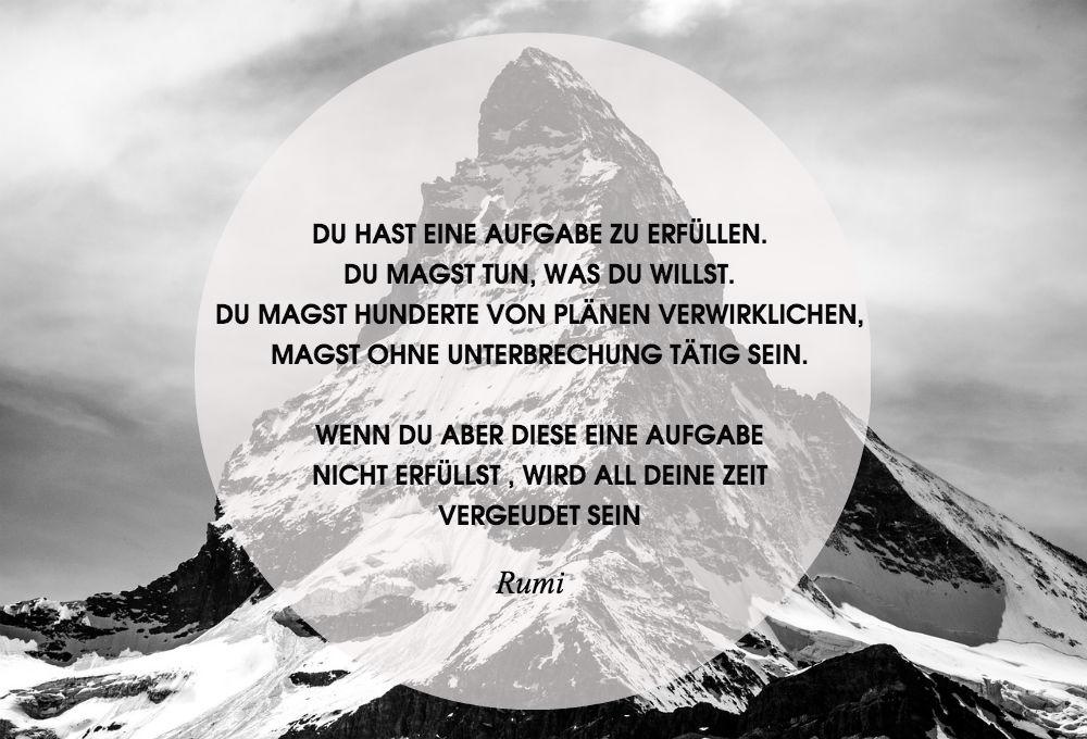 Rumi Aufgabe
