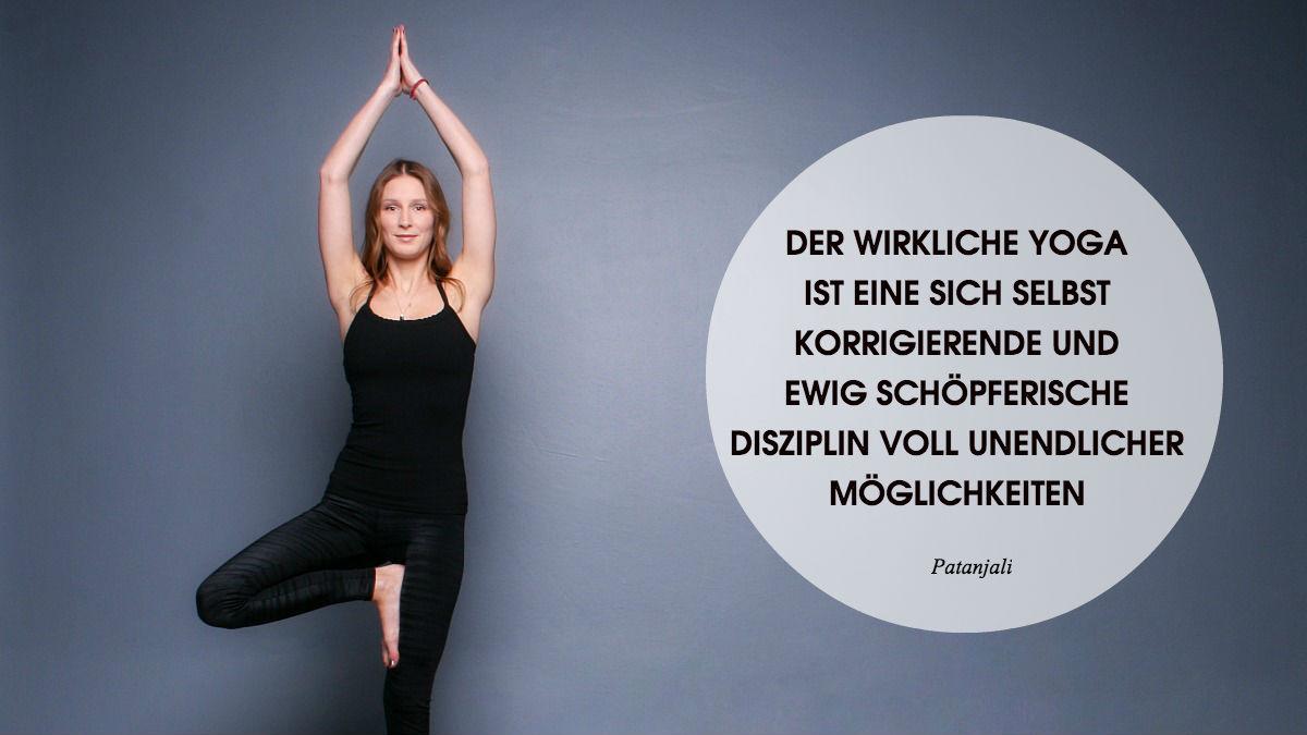 Hatha Yoga Vrikshasana Bettina Janssens