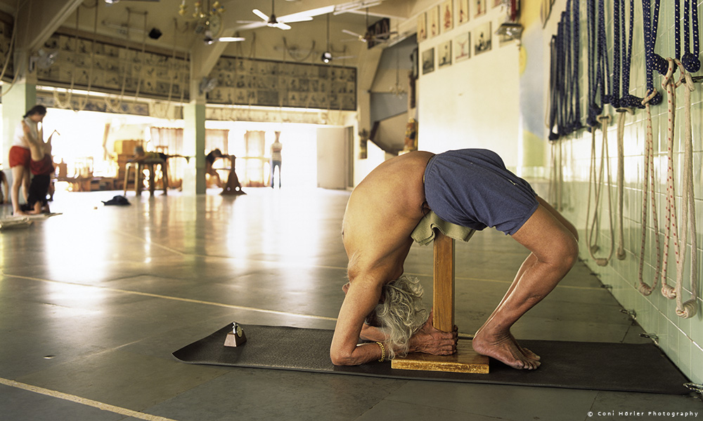 Iyengar Yoga_Coni Hörler