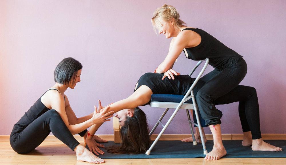 Manuela Heider de jahnsens yoga therapie