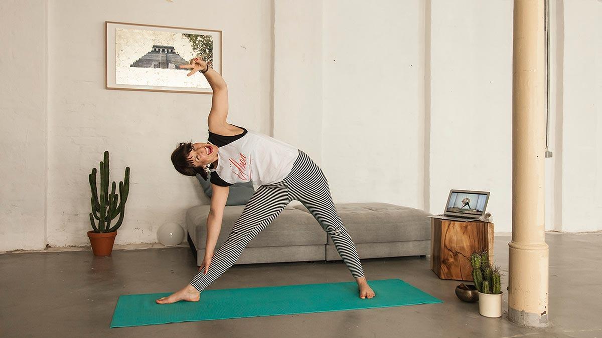 Online yoga yogaia test
