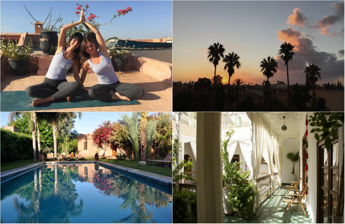 Yoga retreat marrakesch nosade