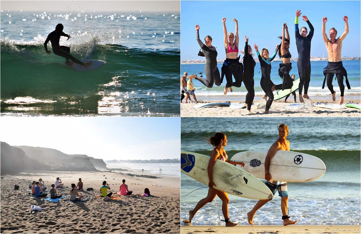 Apura yoga ging 2011 als einer der ersten surf yoga retreats in europa an den start die beiden gründer donovan santa cruz kalifornien und yvonne