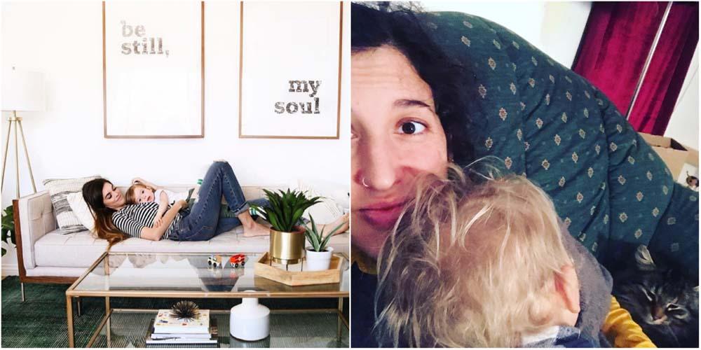 So liegt @marylauren auf der Couch. Und so wir.