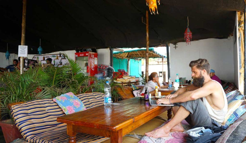 Saxony Beach Restaurant Goa Agonda
