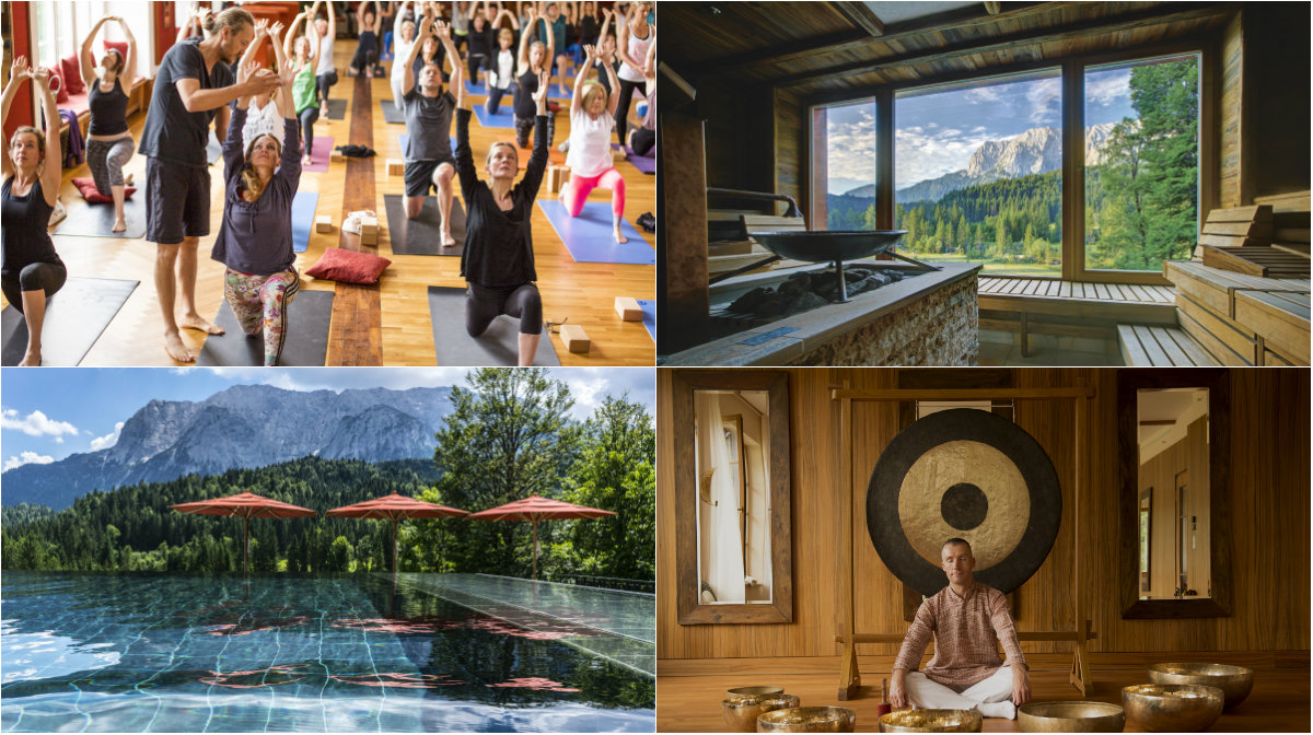 schloss elmau yoga summit