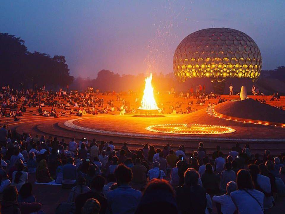 Nicola Rico Carignani Auroville Matri Mandir