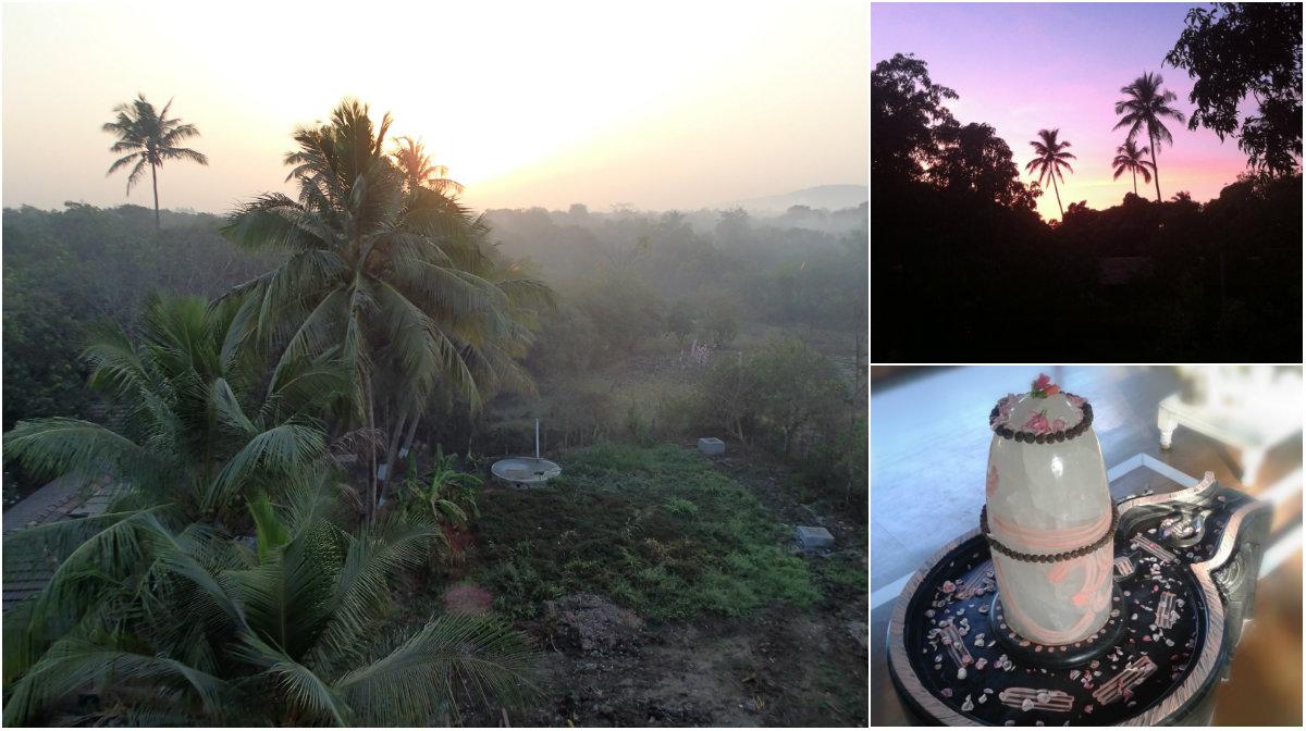 Shanti Mandir shiva lingam