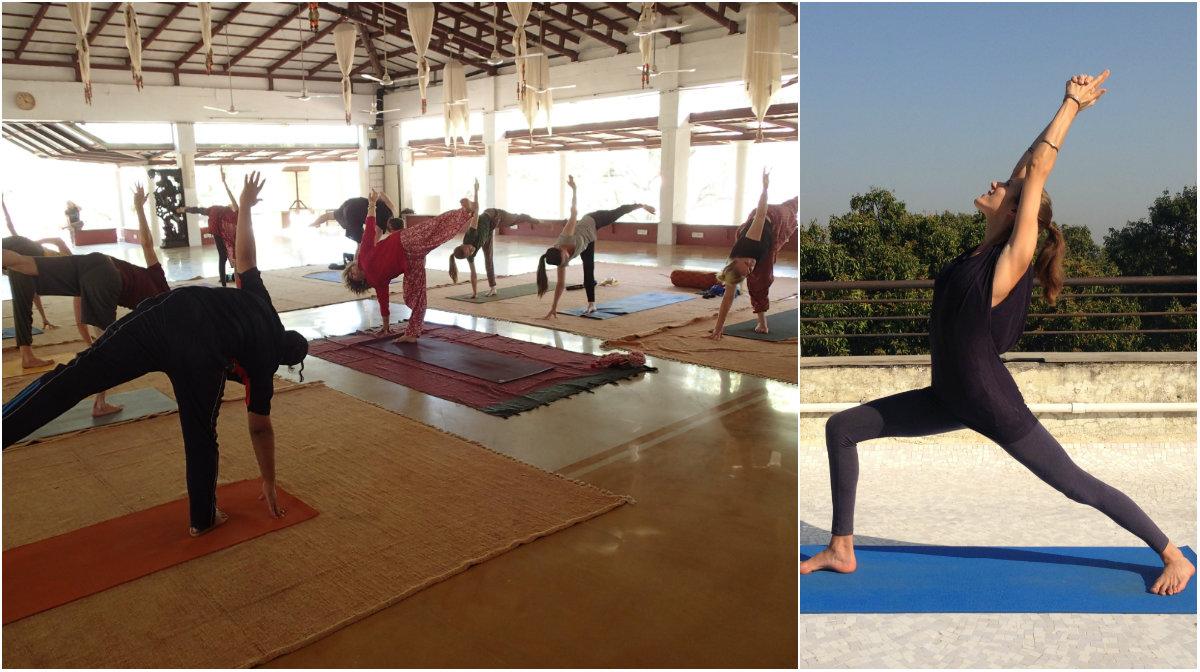Yoga Shantarasa at Shanti Mandir