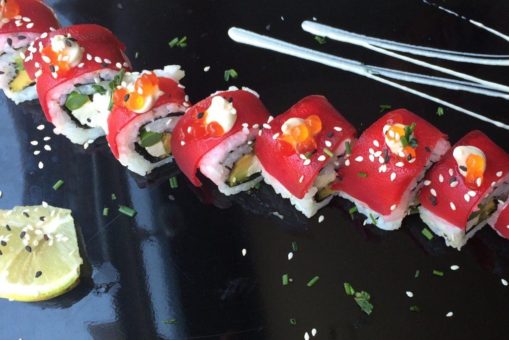 vegan sushi tel aviv