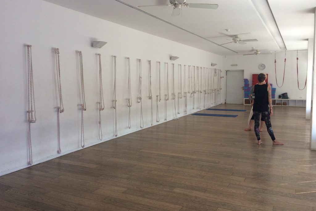 Schnurkonstruktionen für Iyengar bei Ella Yoga