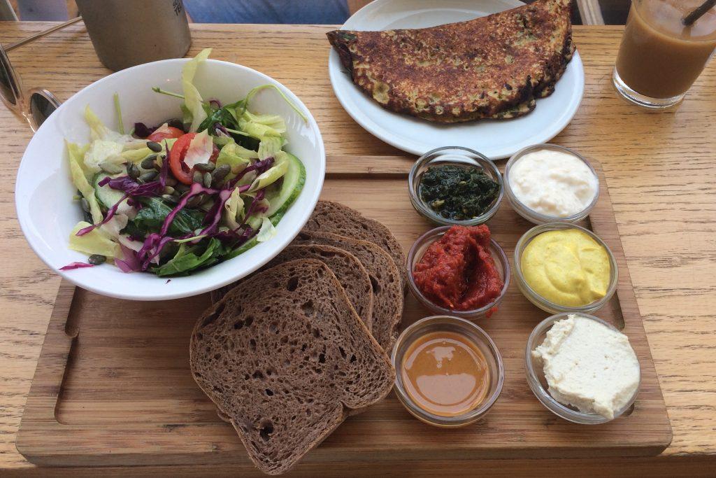 cafe anastasia frühstück tel aviv vegan