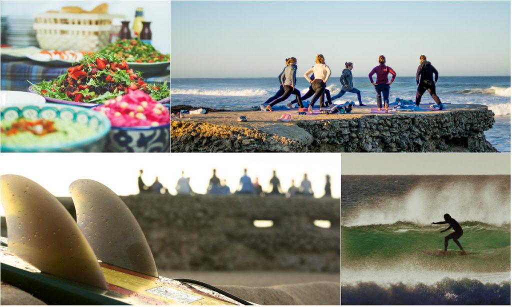 Yoga und Surfreise