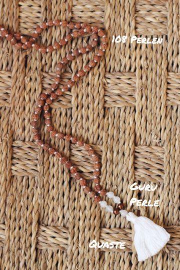 Mit der Malakette meditieren: So geht Japa Mala 1