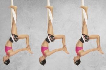 Aerial Yoga: Asanas in der Luft