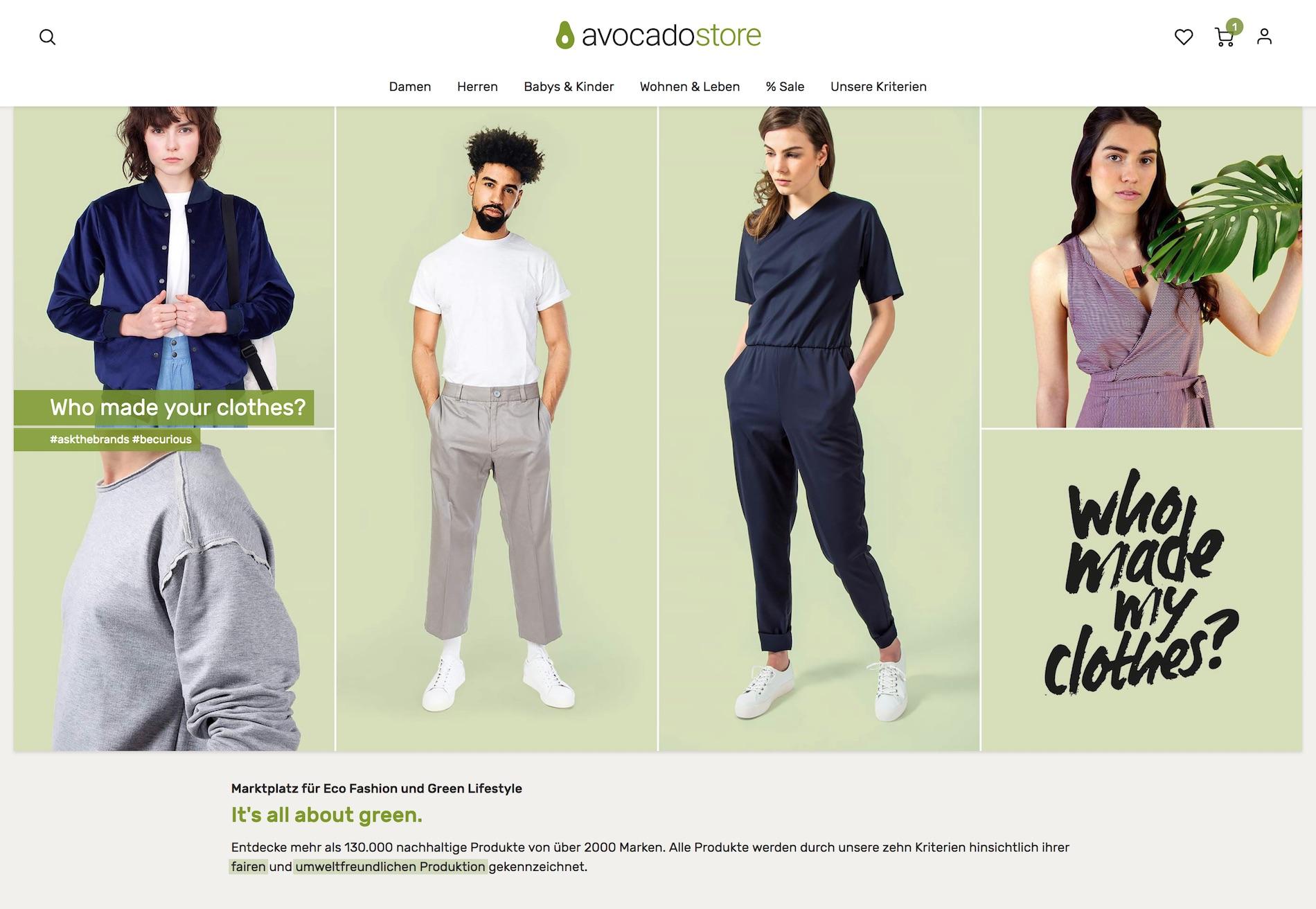 447c2f4e82 Bewusster Konsum: Die besten nachhaltigen Online-Shops