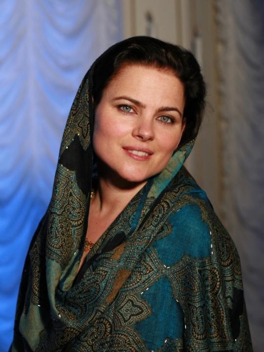 """Karnamrita Dasi: """"Kirtan ist wie ein Gebet"""""""