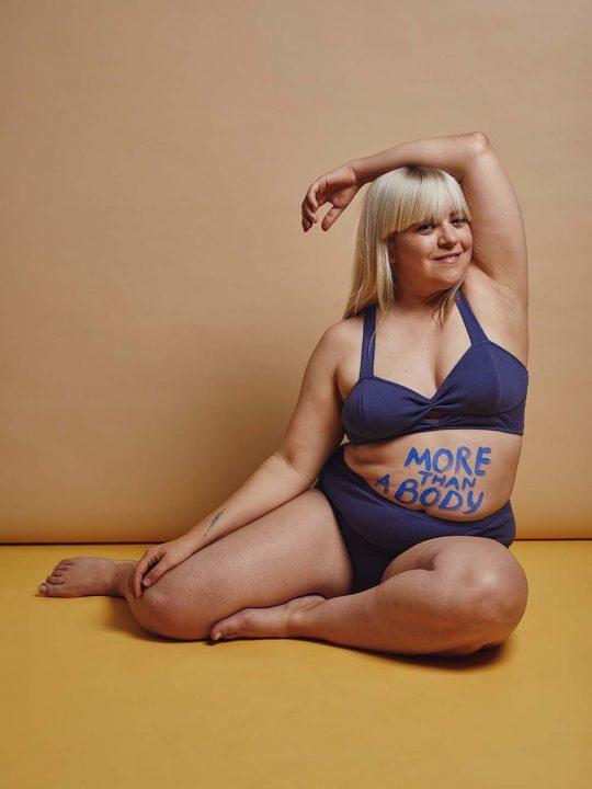 Wie lernt man, seinen Körper zu lieben? Melodie Michelberger im Interview 1