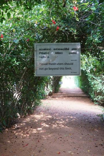 Stillsein ist leicht, wenn keiner redet: 10 Tage Vipassana-Meditation in Sri Lanka 14
