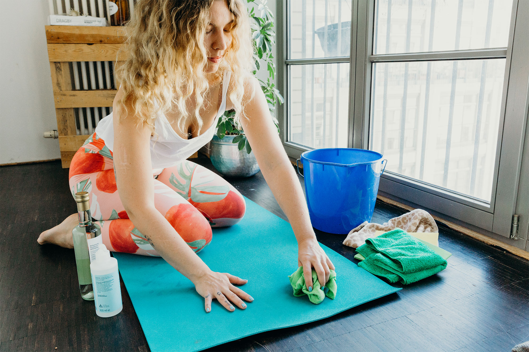 Yogamatte reinigen - So geht's! 6