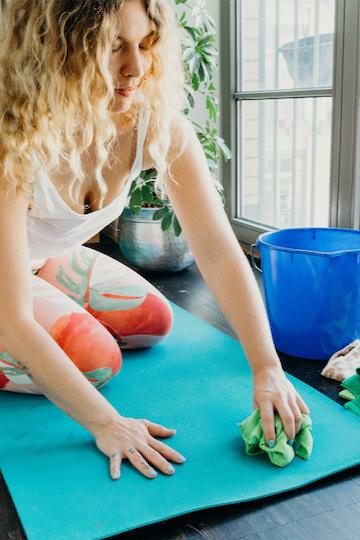 Yogamatte waschen: Eine Anleitung zur richtigen Mattenpflege 3